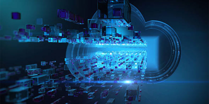 How is Data stored in Cloud Computing?
