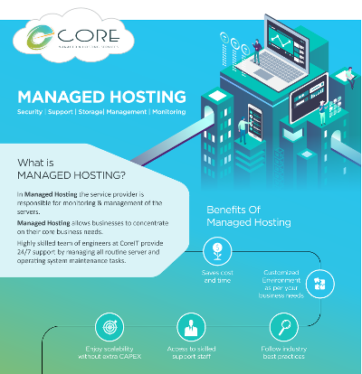 Managed Hosting Infographic