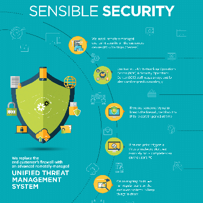 Sensible Security Infographic